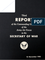 Third Report of Commanding General of the AAF - Air War in the Pacific