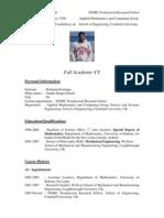 Ranga Dinesh Lecturer CV