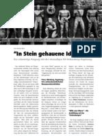 """""""In Stein gehauene Ideologie"""" LOTTA #24"""