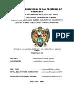 UNIVERSIDAD Informe 5 Quimicq