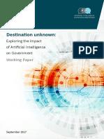 Destination Unknown AI and Government