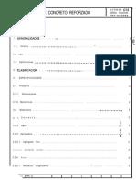 4 Postes de Concreto Reforzado - Normas CFE Especificación CNI-05E002