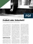 Freiheit oder Sicherheit? - Vorratsdatenspeicherung und Anti-Terror-Datei LOTTA #25