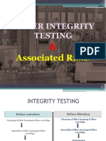 Filter Integrity Testing
