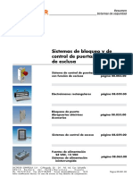 DICTATOR Catalogo 08 Sistemas Puertas Esclusa