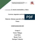 Configuracion NFS