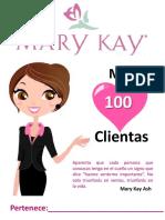 libreta mis 100 clientas mary kay
