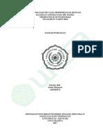 Naskah Publikasi Indah Fitriasari 1610104376 8a Div Bidan Pendidik