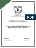 Strategic Initiative BPR(61)