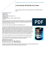 Engineeringcivil.com-Determine the in-Situ Dry Density of Soil by Core Cutter Method