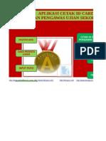 Master Aplikasi Cetak Id Card Peserta Dan Pengawas Ujian Sekolah