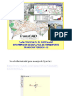 TRANSCAD - Curso -Tutorial