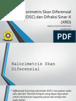 Analisa DSC Dan X Ray