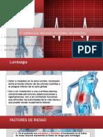 LUMBALGIA (Traumatologia)