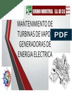 2. Mantenimiento a Turbinas de CFE
