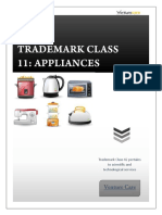 Trademark Class 11 Appliances