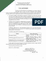 Tax Advisory on Percentage Tax.pdf
