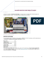 11-Step Procedure for a Successful Electrical Circuit Design (Low Voltage)