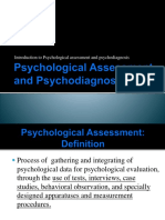Psychological Assessment