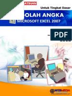 MICROSOFT EXCEL 2007 ( Untuk Tingkat Dasar ).pdf