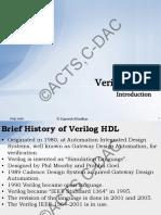 verilog - Introduction