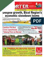 Bikol Reporter July 9 - 15, 2017 Issue