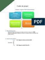 Cadre & Plan Projet