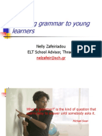 Teaching Grammar to Young Learners