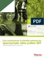 Olive allergy testing