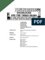 Fairy Tales Goldilocks and Three Bears