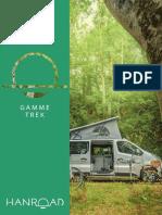 Catalogue Hanroad Gamme TREK Sur Renault Trafic V2