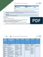 Formato Planeación Didáctica Unidad 1