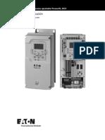 PowerXL DG1 Application Manual_MN040004ES_Spanish