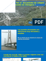 Colapso de Puente Chilajara Pandeo