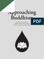 Approaching Buddhism