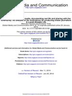 Global Media and Communication 2014 Farinosi 73 92