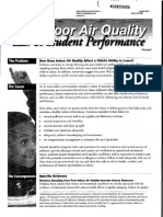 EPA IAQ and Student Perfomance