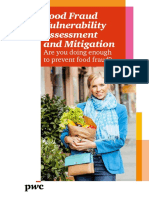 Pwc Food Fraud Vulnerability Assessment and Mitigation November