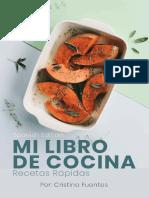 Mi Libro de Cocina - Recetas Rápidas - Cristina Fuentes