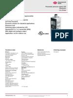 3433 GB Pneumatic Pressure Switch