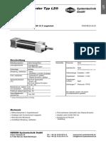 HS D 1170 Zylinder Typ LZO