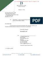 """Joaquin """"El Chapo"""" Guzman  Letter to judge Cogan Re Statement intro from Attorney"""