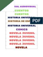 Biblioteca Carteles
