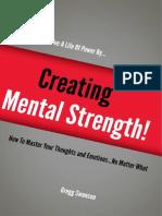 Creating Mental Strength