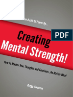 Creating Mental Strength