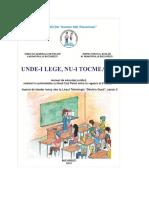 Manual de Educaţie Juridică Pentru Tineri Codul Penal 2014