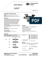 HS GB 0455 NG 6 Proportional Directional Control Valve
