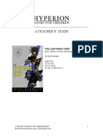 Lightning Thief Teachers Guide