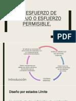 2.2 ESFUERZOS DE TRABAJO O PERMISIBLE.pptx