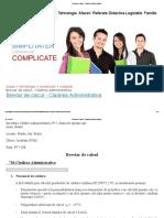 Breviar de Calcul - Cladirea Administrativa